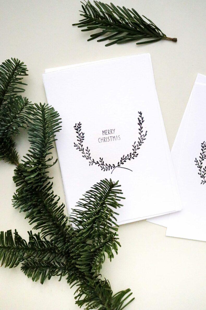 Christmas Card, Merry Christmas STUDIO KARAMELO