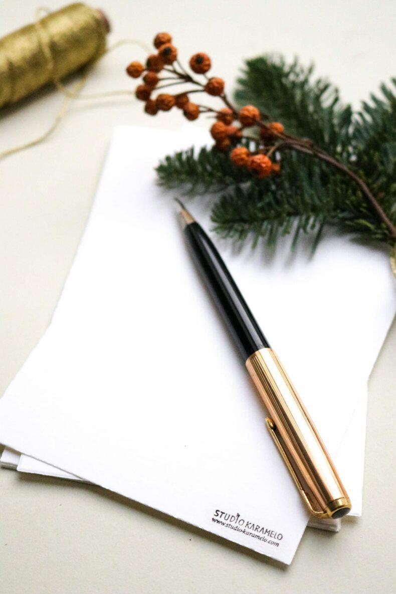Weihnachtskarten, Joyeux noel STUDIO KARAMELO