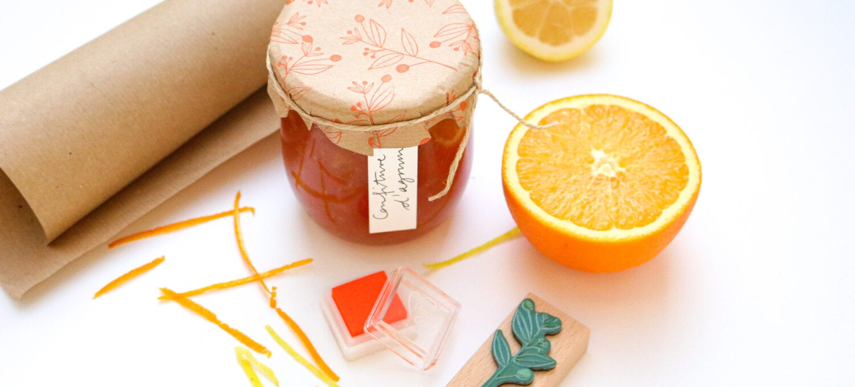 Confiture d'agrumes, Zitrusmarmelade, Marmeladenetiketten, Geschenke aus der Küche – STUDIO KARAMELO