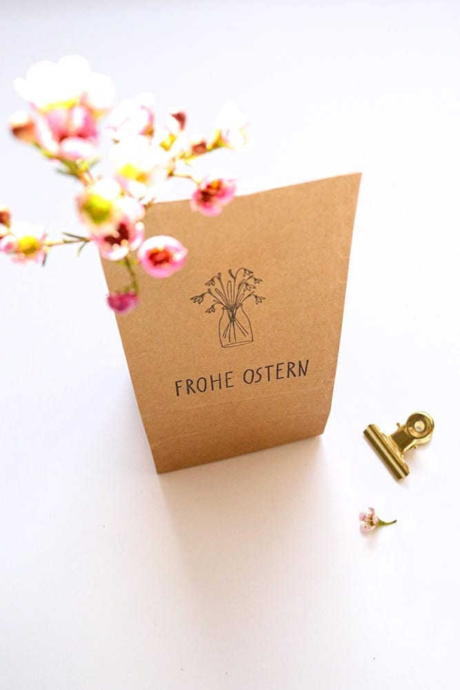 Osternester in Geschenktüte – Frohe Ostern STUDIO KARAMELO