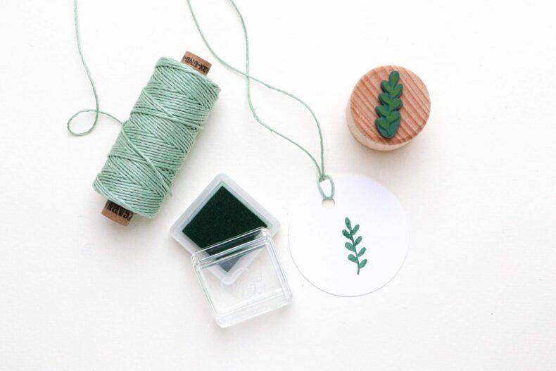 Stempelkissen Evergreen VersaColor, Mini Stempelkissen passend zum Bäckergarn Salbei von garn und mehr STUDIO KARAMELO