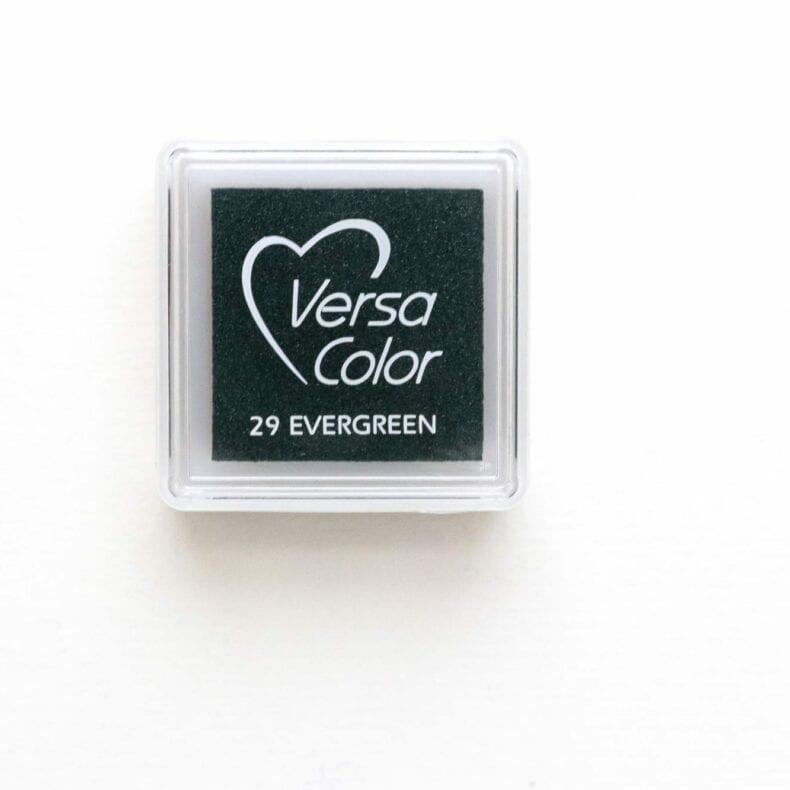 Stempelkissen Evergreen VersaColor, Mini Stempelkissen