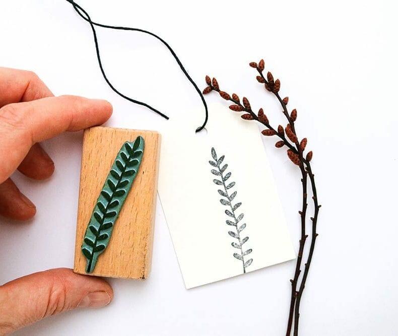 Stempel Blätterzweig – botanische Stempel von STUDIO KARAMELO