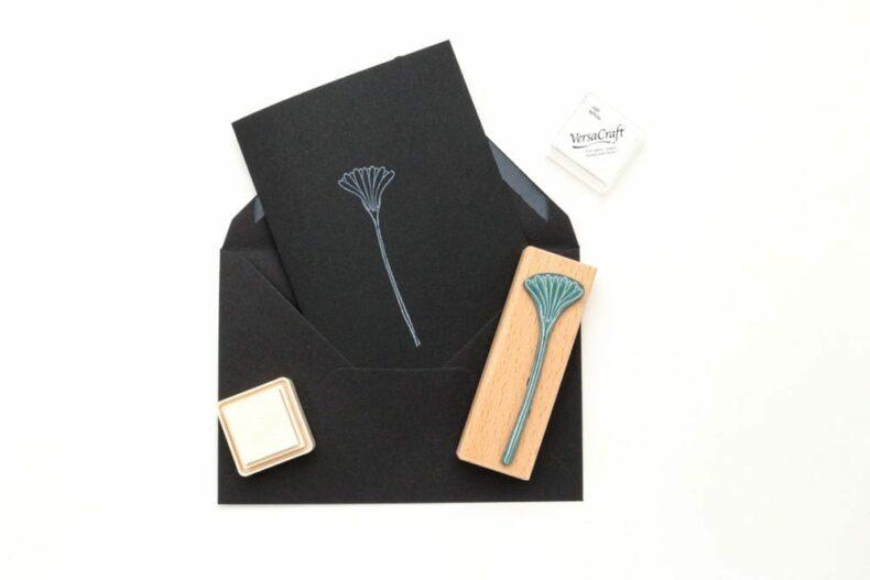 Briefumschläge in schwarz, Kuverts aus Kraftpapier STUDIO KARAMELO