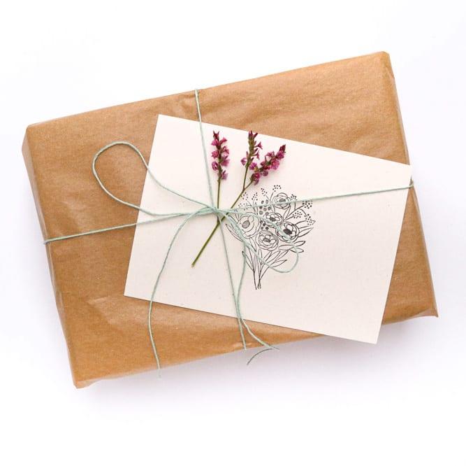 Geschenkverpackung & Service