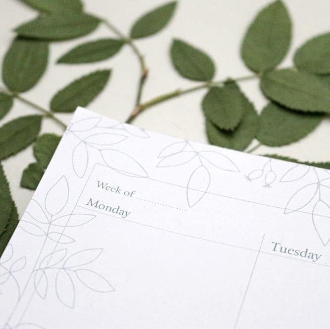 Wochenplanner