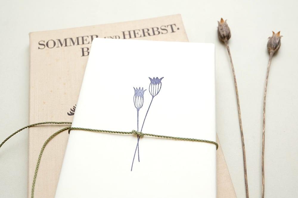 Stempel Kornblume | rubber stamp cornflower