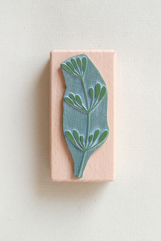 Küchenstempel Dill | rubber stamp dill