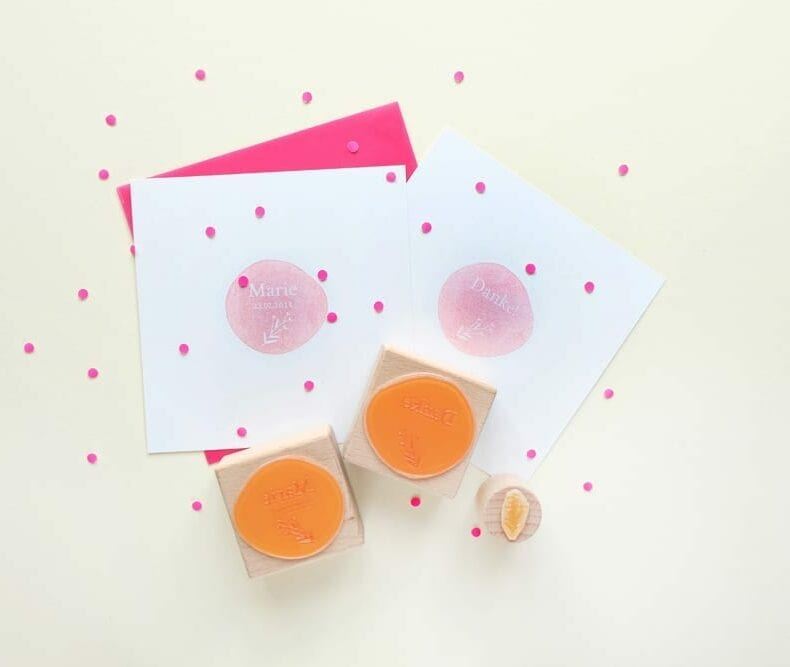Stempel zur Geburt & Taufe | birth announcement rubber stamps