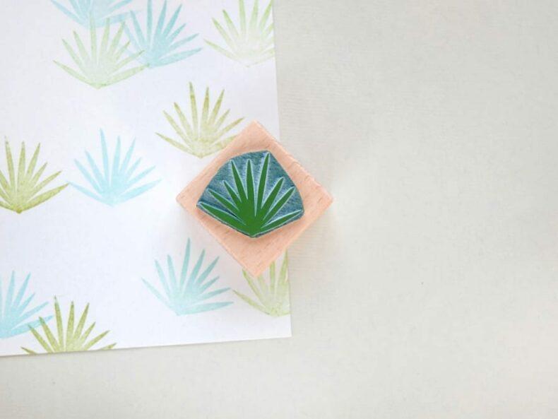 Stempel Palmzweig | rubber stamp palm