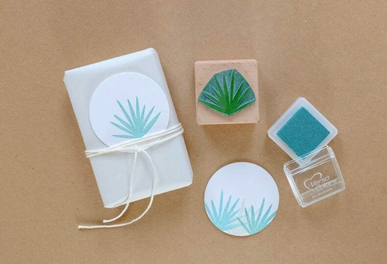 Stempel Palmzweig | rubber stamp palm