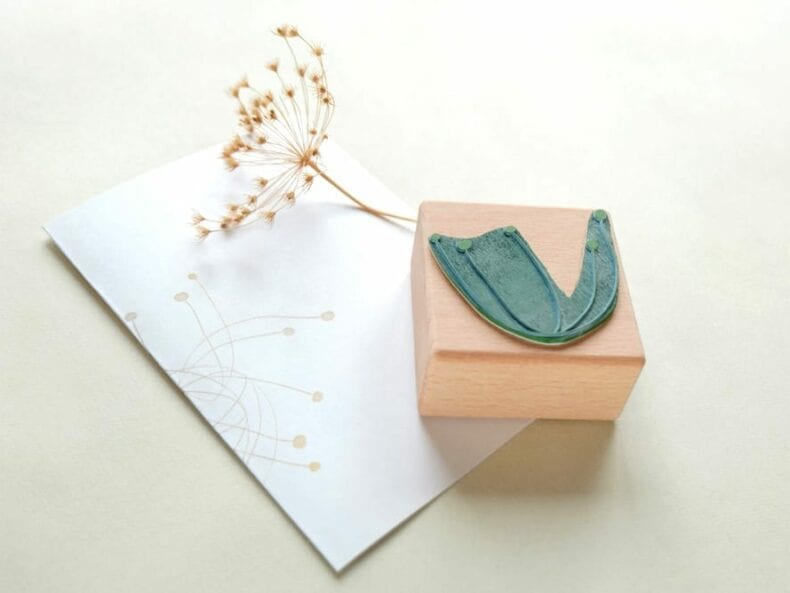 Stempel Rispe Pflanze | rubber stamp plant panicle