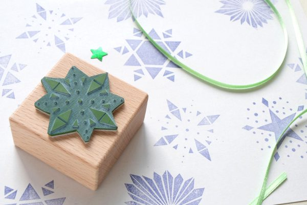 Weihnachtsstempel Sterne | christmas rubber stamps stars