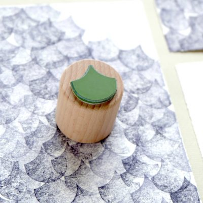 Stempel Woge | rubber stamp wave