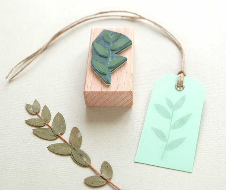 Stempel Korallenbeere | rubber stamp coral bead plant