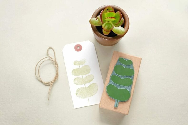 Botanisches Stempel Set | Botanical rubber stamp set