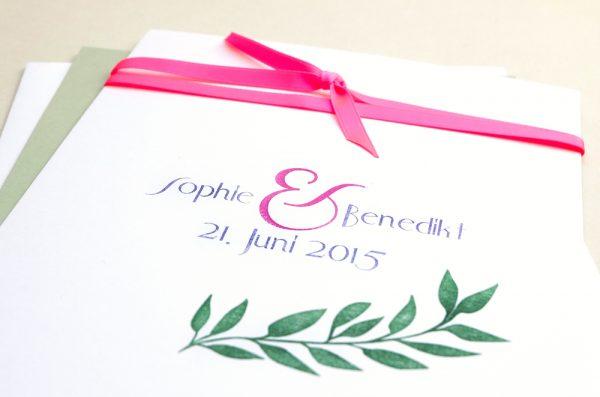 Individuelle Hochzeitsstempel Ampersand | custom wedding rubber stamps ampersand
